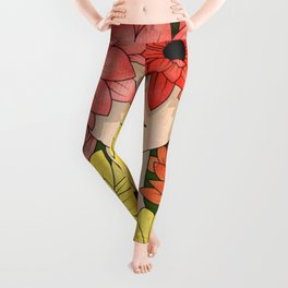 Flower Garden Girl Leggings
