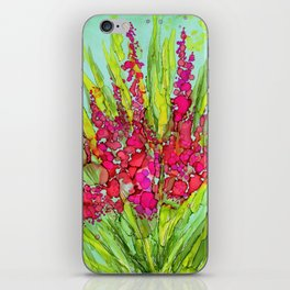 Pink Bouquet By Pam Hayes- iPhone Skin