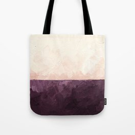 Landscape in Plum Tote Bag
