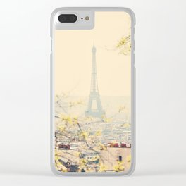 from atop the hill ... Clear iPhone Case