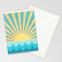 Glowing Sun Stationery Cards