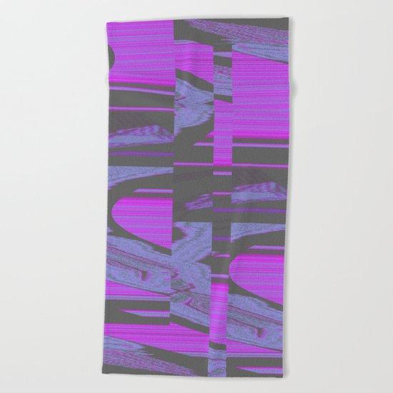 Virus 1.A Beach Towel