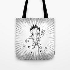 KWeb #6 : Hentai Kamen (black & white) Tote Bag