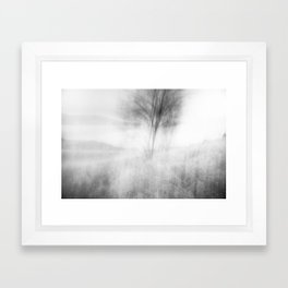 when the wind woke Framed Art Print