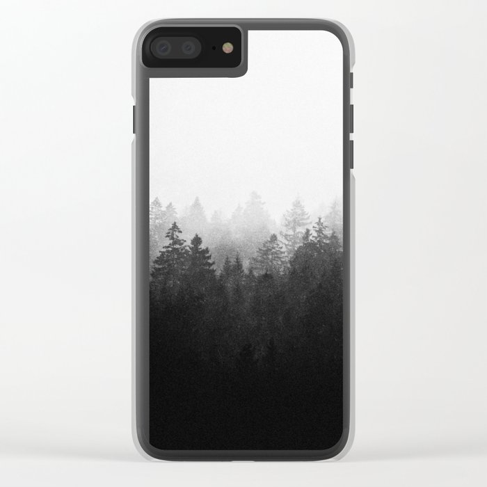 A Wilderness Somewhere Clear iPhone Case