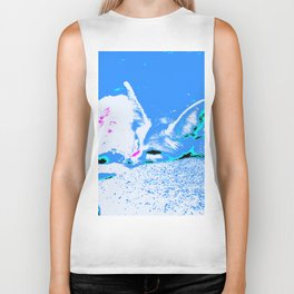 Pop Art Fennec Fox Biker Tank
