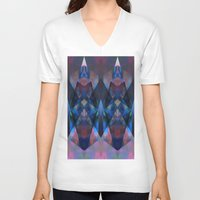 rave V-neck T-shirts featuring Rave Crystal by Ava Danielle Cartner