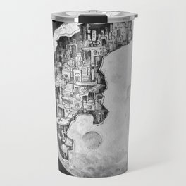 Party in the Moon Travel Mug