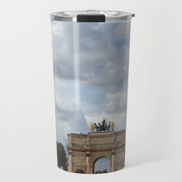 Arc du Carrousel Under the Sky Travel Mug