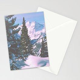 Maroon Bells from Aspen Highlands, Colorado Stationery Cards