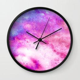 Mixed Feelings Watercolor Art #society6 #watercolor #painting #buyart Wall Clock