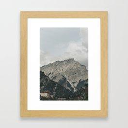 Downtown Banff Framed Art Print