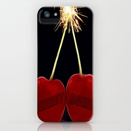 Cherry Bomb: Version 2 iPhone Case
