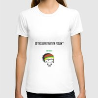 marley T-shirts featuring Marley by the curious brain