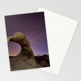Mobius Arch at night Stationery Cards