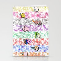 digimon Stationery Cards featuring Digimon 15th Anniversary by AbigailC