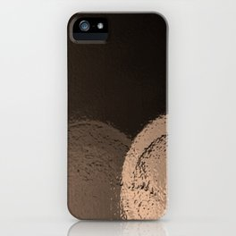 Dark Night Sepia iPhone Case