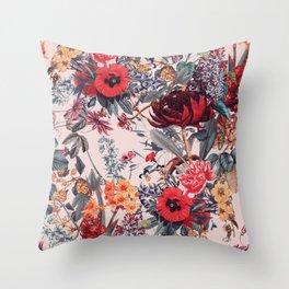 Magical Garden VIII Throw Pillow
