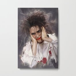 Robert Smith - The Cure Metal Print