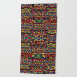 Cloisonne Color Joy Beach Towel