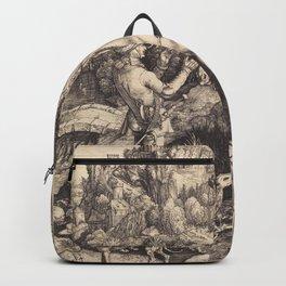 Albrecht Durer - Saint Eustace Backpack