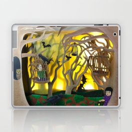 Into the Woods Paper ARt Laptop & iPad Skin