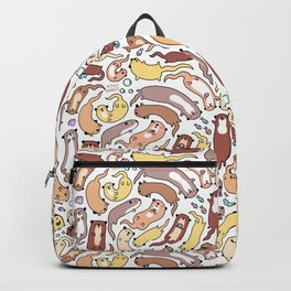 Adorable Otter Swirl Backpack