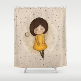 Moon Song 5 Shower Curtain