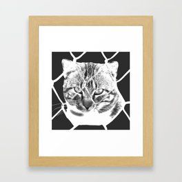 freedom for animals Framed Art Print