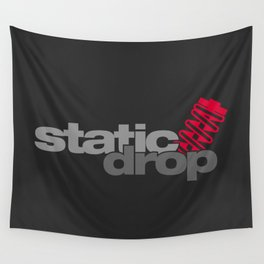 Static drop v1 HQvector Wall Tapestry