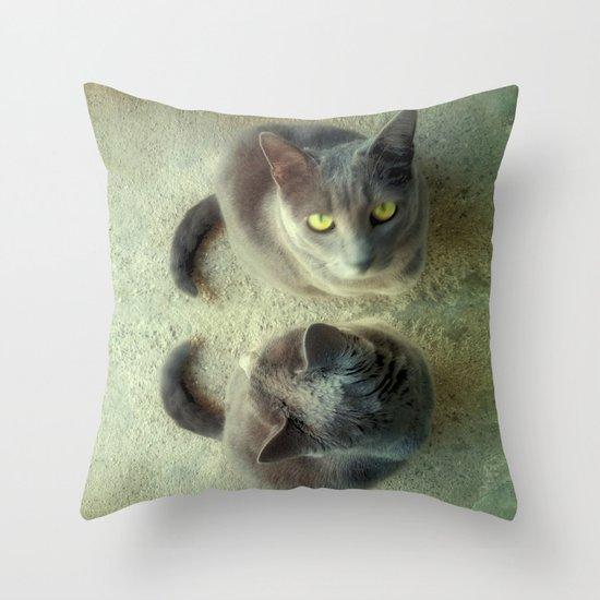 Double Love Throw Pillow