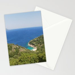 Ithaki, Greece landscape Stationery Cards