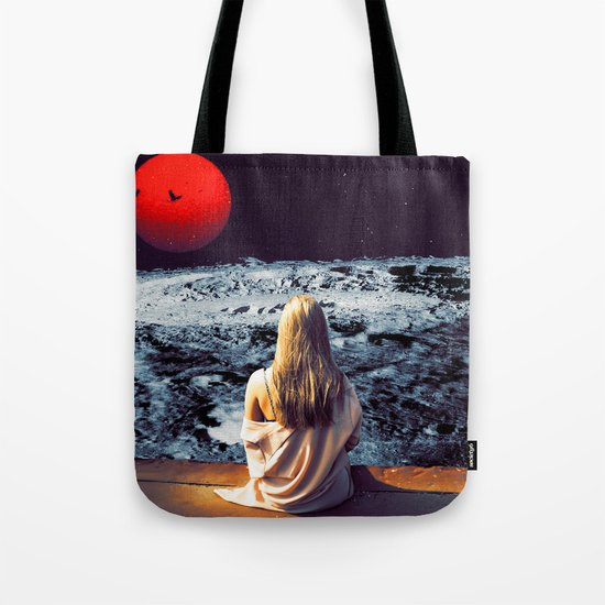 Moonface Tote Bag
