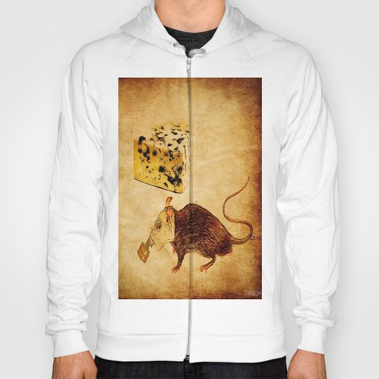 The rat which did not like the cheese Hoody