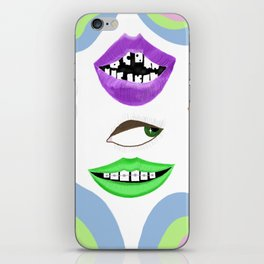 Lips of a NightDream iPhone Skin