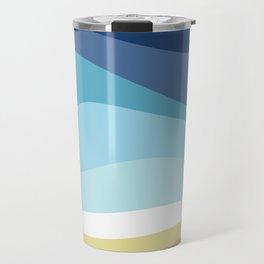 Blue Ocean Waves ! Travel Mug