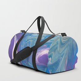 Blue Geode Duffle Bag