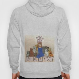 Crazy cat lady Hoody