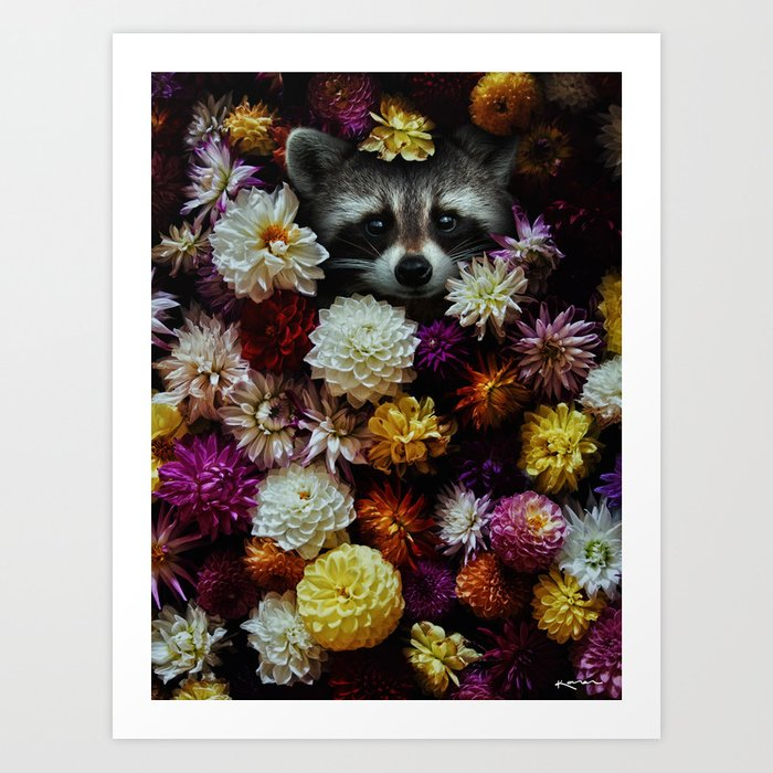 bloom with grace. Art Print