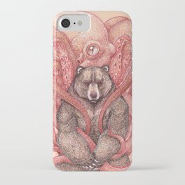 THE KRAKEN AND THE KODIAK iPhone Case