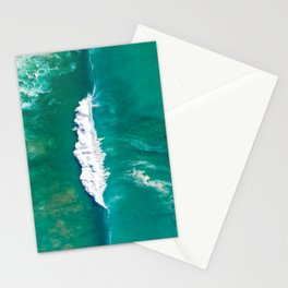 Breaking A-frame wave Stationery Cards