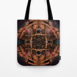 New Year Mandala Tote Bag