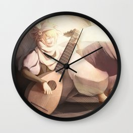 A Folk Song Wall Clock