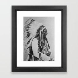 Chief Sitting Bull Framed Art Print