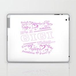 IT'S A GIGI THING Laptop & iPad Skin