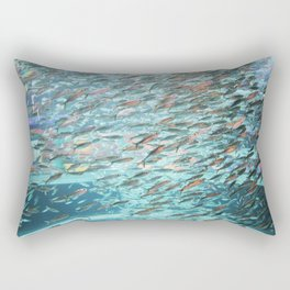 Typhoon Fish Rectangular Pillow