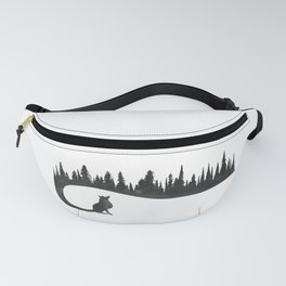 Winter Fox Fanny Pack