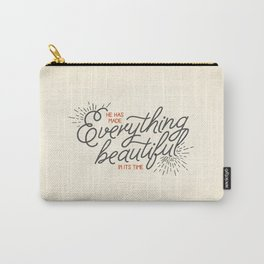 EVERYTHING BEAUTIFUL Carry-All Pouch