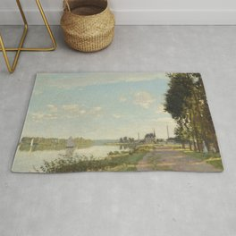Argenteuil by Claude Monet Rug