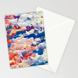 Fragmented bubbles Stationery Cards